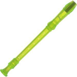 Blockflöte Stagg barock transparent grün